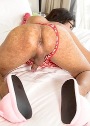 Winnie - Toy and Cock Stuffed Backdoor