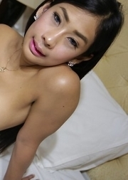 Hot 20yo Thai ladyboy Arin gets her ass worked out by big white cock