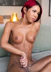 Japan Transsexual Miran Fap and Suck
