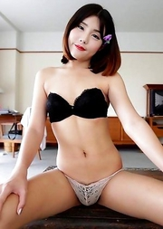 Petite shy Ladyboy Dream from Bangkok shows not-so-innocent behavior