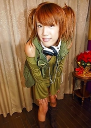 Ribon is a smiley 19 year old tgirl full of life who comes from the Hyogo Prefecture.