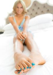 Ladyboy Lorla - Blonde Teen PJ Bareback