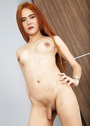Super hot red head angel Ping is eager to take off her dress and show off her lovely big tits and tasty ass.